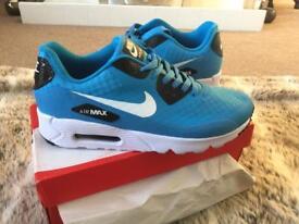 Blue Nikes Size 8