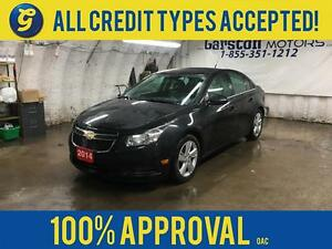2014 Chevrolet Cruze DIESEL*NAVIGATION*LEATHER*SUNROOF*REMOTE ST