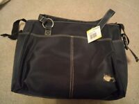 Hauck baby changing bag navy