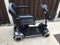 PRIDE GOGO ELITE TRAVELLER COMPACT MOBILITY SCOOTER DISMANTLES EASILY STUNNING CONDITION