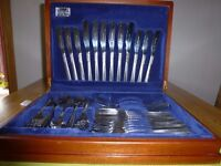 Vintage Viners 'Love Story' 56 piece Canteen of Cutlery