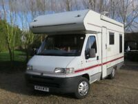 Comfortable Fiat Camper. 1 Year's MOT. Excellent condition.