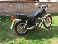 2006 CRUISER 125cc HUONIAO HN125-8 COOL LITTLE CRUISER