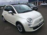 (62) Fiat 500 1.2 convertible ,mot - July 2019 , service history , 2 owners ,ka,fiesta,clio,corsa,c1