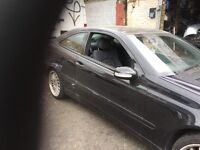 53 MERCEDES C180 PETROL MANUAL FULL CAR BREAKING FOR ANY PARTS CALL ON