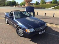 1995 MERCEDES SL280, ONLY 76000 MILES FROM NEW, APPRECIATING CLASSIC, FULL YEARS MOT