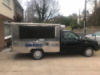 Hot food Jiffy Van / Catering Van / Business for sale