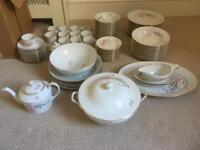 12 setting French China dinner service