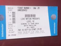 LEVEL 42 Sirens II tour 2016 BATH PAVILION 21st Oct 2016 start 19:30