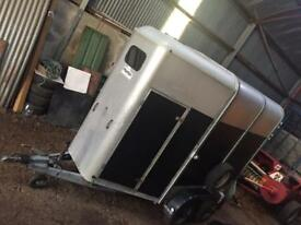 Ifor Williams double horse box