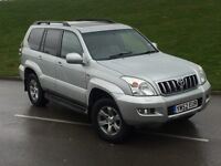 2003 Toyota Landcruiser LC4 3.0 D4D 4x4, AUTO, LEATHER, SUNROOF, SAT NAV. NOT HILUX, PRADO, COLORADO
