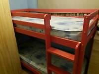 Shortie bunk bed