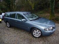 Volvo V70 2.4T auto cheap large estate, very good condition