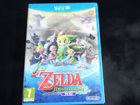 The legend of Zelda The Wind Waker HD for Nintendo Wii U ***Postage Available***