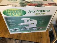 Greenlife juice extractor