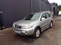 breaking silver KY0 nissan xtrail SVE manual parts spares, side steps, black leather interior