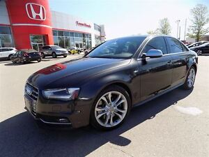 2013 Audi S4 3.0T (S tronic)... NAVIGATION.. LEATHER