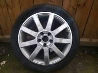 audi a6 spare wheel