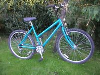 ladies raleigh vixen,18.5 in frame,lovely condition
