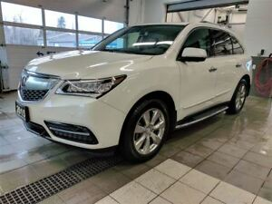 2015 Acura MDX Elite AWD - Cooled seats - DVD - 7 passenger