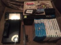 Boxed Nintendo Wii U 32GB With Games