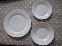 12 Piece Dining Set - White NEW