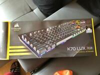 Corsair K70 LUX RGB mechanical keyboard mx brown