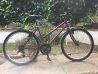 "Ladies bike. 18"" frame. A bit rusty but working well"