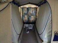 2008 sunncamp 240s trailer tent