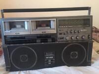 SHARP DOUBLE CASSETTE PLAYER FOR SALE