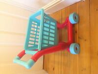 ELC toy shopping trolley in good condition £5