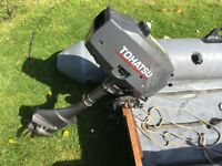 Avon MK2 infalable boat / rib hypolon construction + 3.5HP Tohatsu outboard (like new) used tender