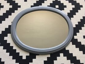 Upcycled Oval Mirror