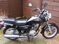 sinnis 125 motobike 2015 model in mint condition