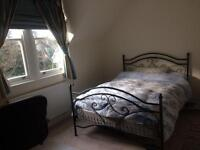 Brightly and spacious double room ensuite. 175 pw/750pm