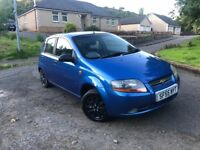 Low mileage Chevrolet Kalos full service history 1 year mot very good condition PX
