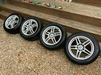 Multi-Fit Alloy Wheels and Tyres suit Ford etc