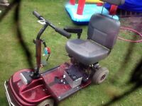 Mobility scooter spares and repairs
