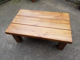 Solid Wood Coffee Table New - Renovated Sleepers