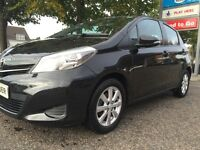 TOYOTA YARIS 1.33 VVT-ITR 5 DOOR BLACK 2013