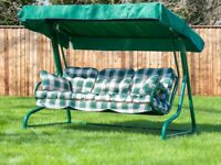 Garden hammock swing three seater quick sale wanted moving home