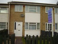 Three Bedroom Mid Terrace , Bramble Drive Carlton.