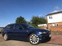 BMW 3 Series 2.0 318i SE Touring 5dr 2003 (03 reg), Estate Manual Petrol+MOT JAN 18+Service History+