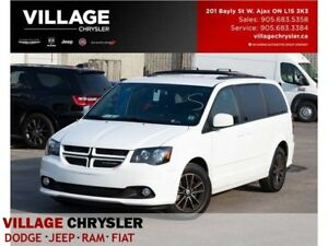 2017 Dodge Grand Caravan GT|Nav|DVD|Leather|Remote|Pwr Drs