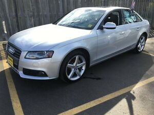 2012 Audi A4 2.0T Premium, Automatic, Leather, Sunroof, Heated