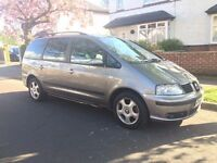 2006 Seat Alhambra Reference 1.9 TDI PD 6 Speed Manual (1 year M.O.T) NOT SHARON, PASSAT, GOLF