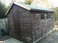 10x8 garden shed in really good condition. Has lights and electrical points.