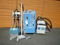 Stimvak carpet and upholstery steam cleaning machines