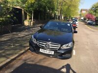 Pco registered Mercedes E class 64 plate for rent