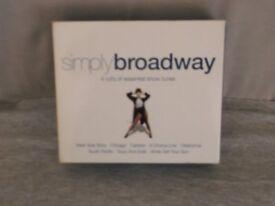 Simply Broadway CD.